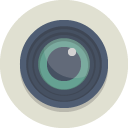 lens Gainsboro icon