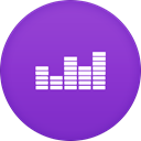 Deezer DarkOrchid icon