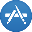 Appstore SteelBlue icon