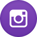 Instagram SlateBlue icon