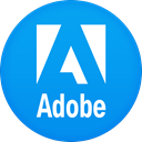 adobe DodgerBlue icon