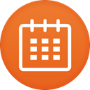Calendar Chocolate icon
