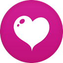 Heart MediumVioletRed icon