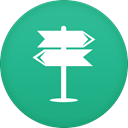 navigation LightSeaGreen icon
