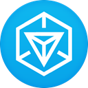 Ingress DeepSkyBlue icon