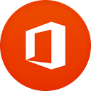 office OrangeRed icon