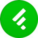 Feedly Lime icon