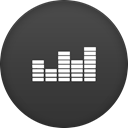 Deezer DarkSlateGray icon