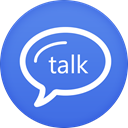 google, talk RoyalBlue icon