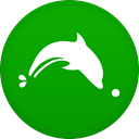 dolphin Green icon