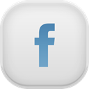 Facebook Gainsboro icon