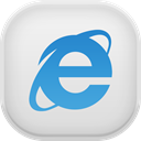 internet, Explorer Gainsboro icon