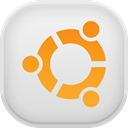 Ubuntu Gainsboro icon