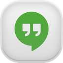 google, hangout Gainsboro icon