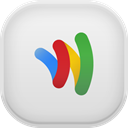 google, wallet Gainsboro icon
