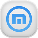 maxthon Gainsboro icon