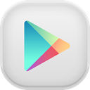 google, play Gainsboro icon