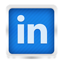 linked, Linked in DodgerBlue icon