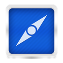 safari RoyalBlue icon