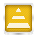 Vlc Goldenrod icon