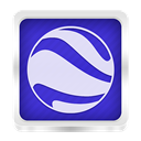 google, earth Lavender icon