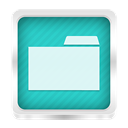 Explorer, File LightSeaGreen icon
