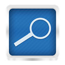 search SteelBlue icon