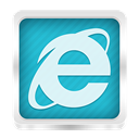 internet, Explorer LightSeaGreen icon