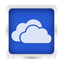 skydrive RoyalBlue icon