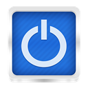 shutdown RoyalBlue icon