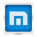 maxthon DodgerBlue icon