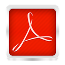 adobe, reader Red icon