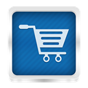 shopping Teal icon