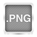 Png Gray icon