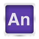 Animate, edge DarkSlateBlue icon