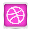 Dribble HotPink icon