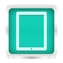 ipad LightSeaGreen icon