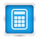 calculator DodgerBlue icon
