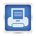 printer SteelBlue icon
