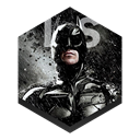 Dark, knight Black icon