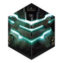 Dead, space Black icon