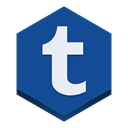 Tumblr DarkSlateBlue icon