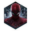 spider, Man, Amazing Black icon