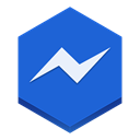 Messenger RoyalBlue icon