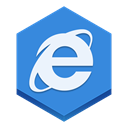 internet, Explorer RoyalBlue icon
