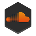 Soundcloud DarkSlateGray icon