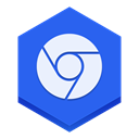 chrome RoyalBlue icon