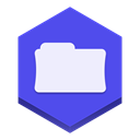 File RoyalBlue icon