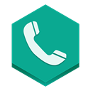 phone DarkCyan icon