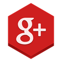 plus, google Firebrick icon